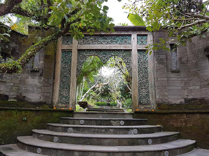 Pandawas Villas, Ubud, Bali entrance