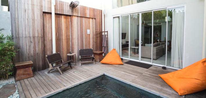 Hu'u Villas, Seminyak, Bali Loft Room-11