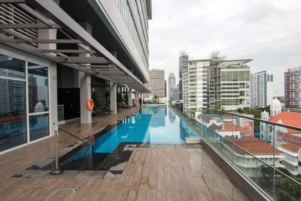 Mercure Singapore Bugis pool