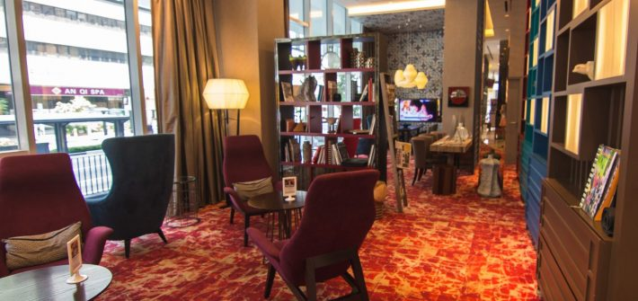 Mercure Singapore Bugis rest lounge