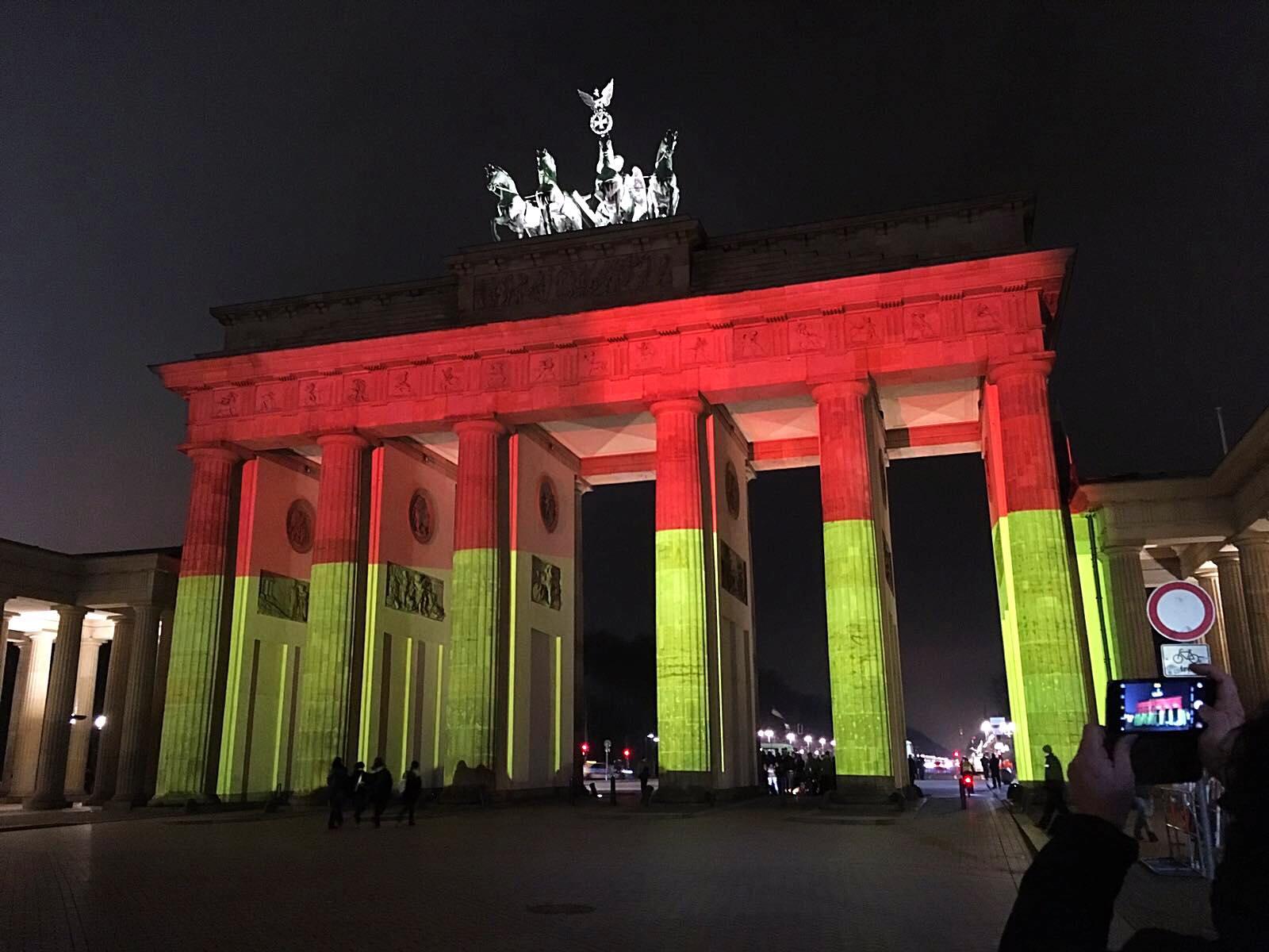 Brandenburg Gate by @visitberlin things must do when visiting Berlin
