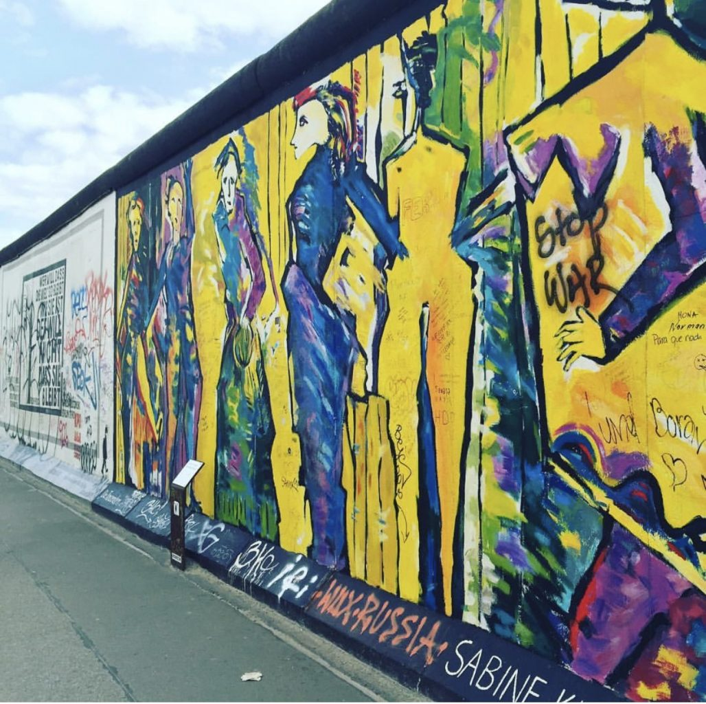East Side Gallery things must do when visiting Berlin