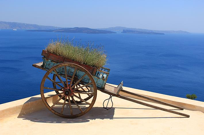 Perfect Greek Villa santorini greece blue waters