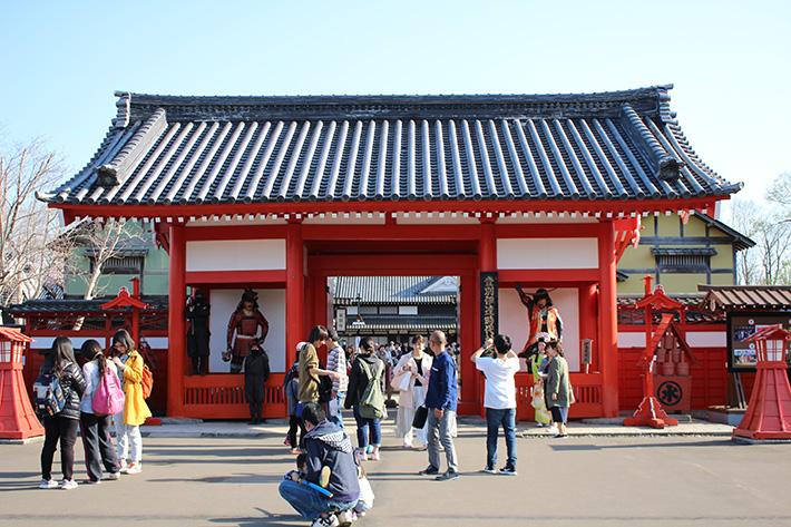 Noboribetsu Date Jidaimura (Ninja Village) entrance