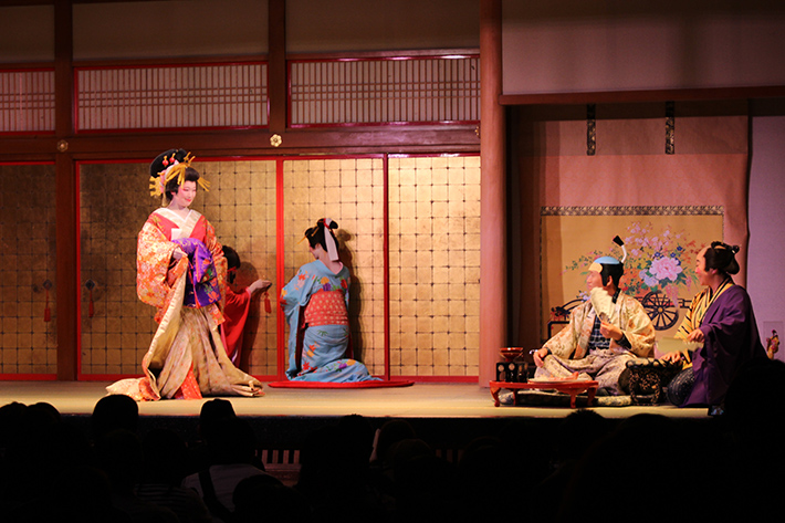 Noboribetsu Date Jidaimura (Ninja Village) oiran performance