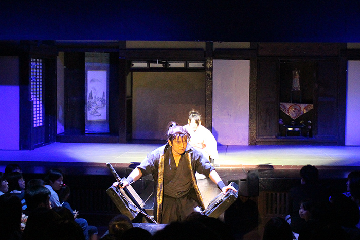 Noboribetsu Date Jidaimura (Ninja Village) performance