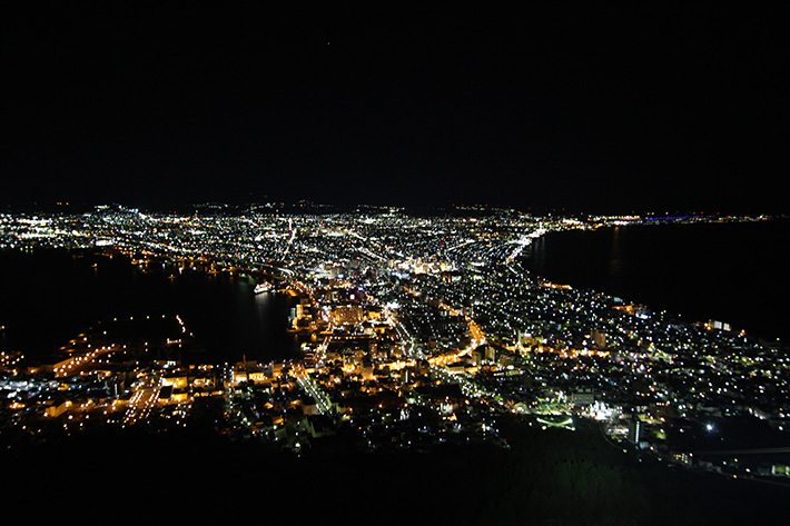 mount night view Hakodate & Toya - 6-Day South Hokkaido Itinerary