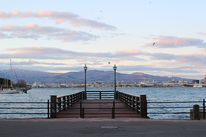 pier sunset Hakodate & Toya - 6-Day South Hokkaido Itinerary, hakodate itinerary, things to do in hakodate, what to do in hakodate, hakodate must eat