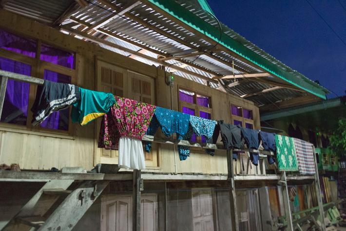 komodo-village-local-house labuan bajo indonesia flores