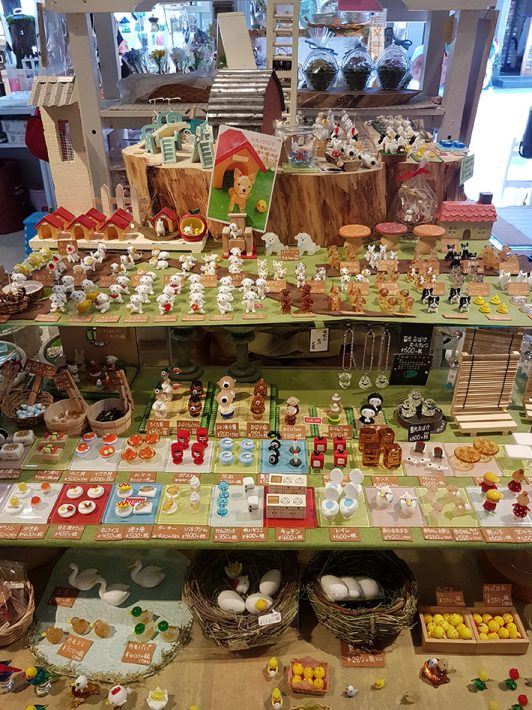 otaru canal glass figurines cute