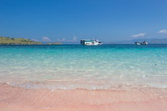 pink-beach-labuan bajo indonesia