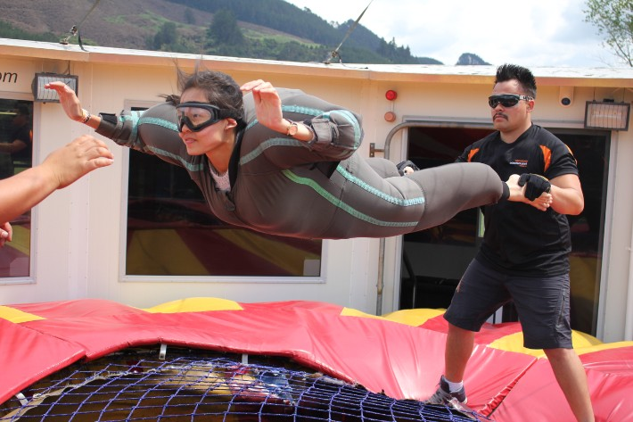 Freefall Xtreme Velocity Valley Agroventures Rotorua New Zealand