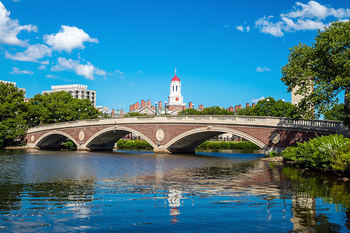 Bridge-over-Charles-River-in-Harvard, Favourite Student Hangouts in Cambridge, MA