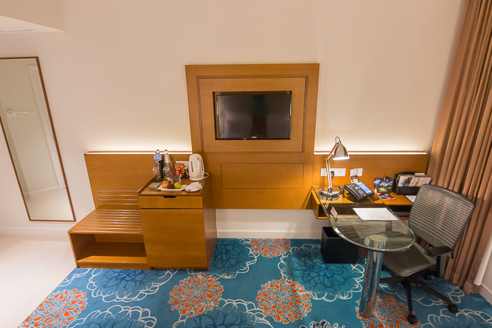Premier King Room, Swissotel Merchant Court Singapore -1