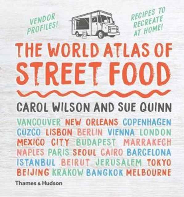 World Atlas of Street Food, christmas travel gift