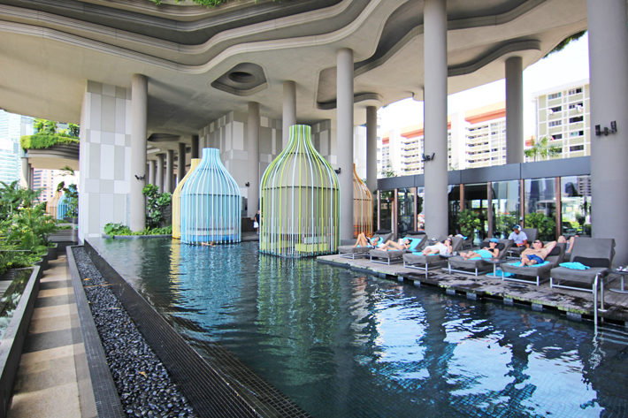 Parkroyal on pickering singapore hotel review bel - Park royal pickering swimming pool ...