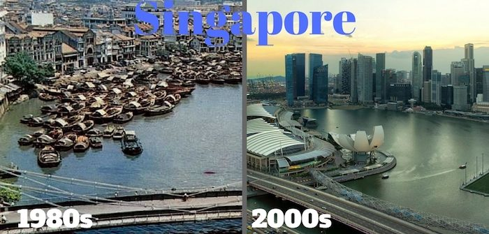Singapore past and present history transformation