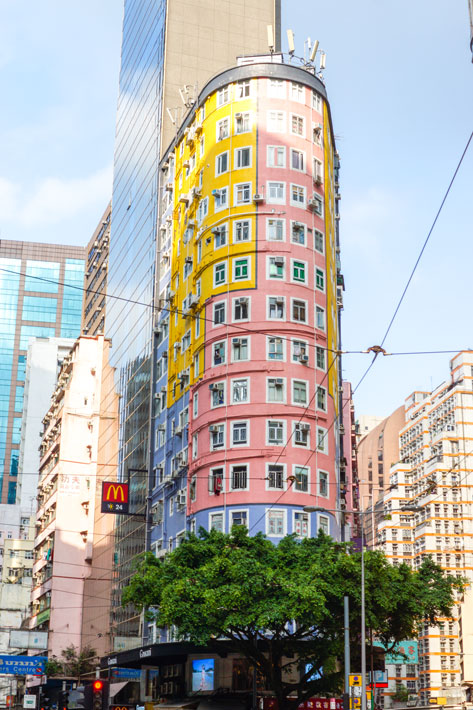 Wanchai---Colourful-Building