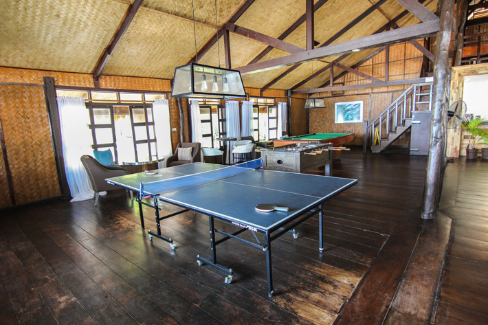 club paradise palawan coron reception games table tennis