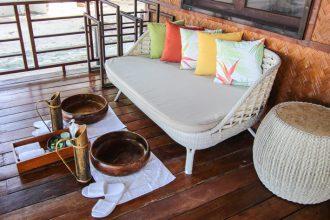 club paradise palawan coron welcome foot massage