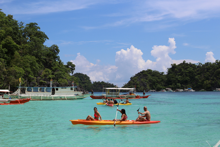coron-island-hopping-tour-water-sports, where to stay in coron, palawan, philippines
