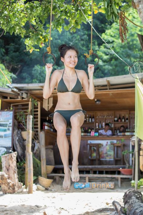el nido Seven Commandos Beach girl strong bikini, el nido palawan philippines, how to get to el nido, el nido tour package, things to do in el nido