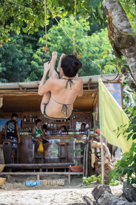 el nido Seven Commandos Beach girl strong bikini