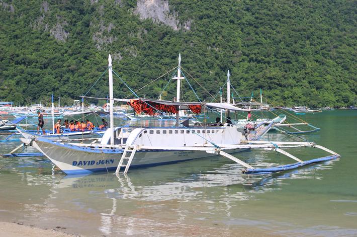 el nido island tour hopping boat