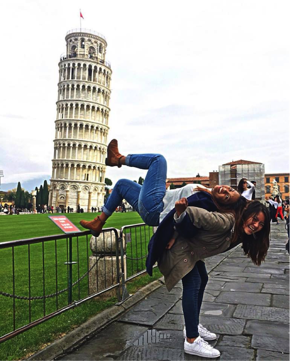 pisa leaning tower italy
