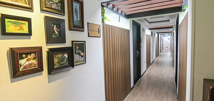 Hotel-Clover-Jalan-Sultan-Corridor