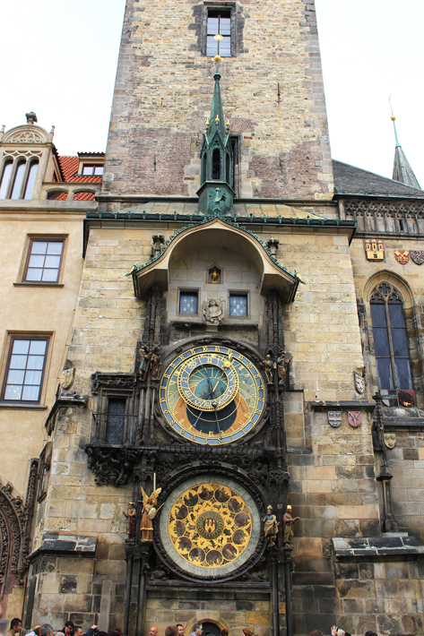 astronomical clock, places to visit in prague, 3 days in prague