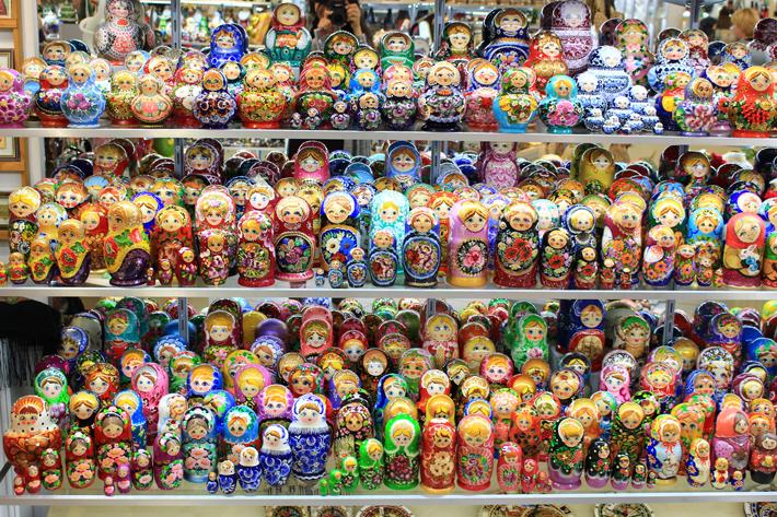 Prague russian dolls, prague trip, prague travel guide