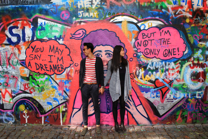 john lennon wall, what to do in prague in 3 days, prague travel guide,