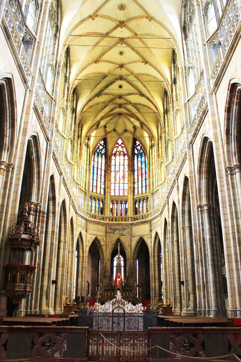 St Vitus Cathedral, 3 days in prague, prague trip
