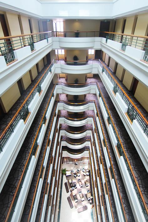 PARKROYAL Saigon atrium
