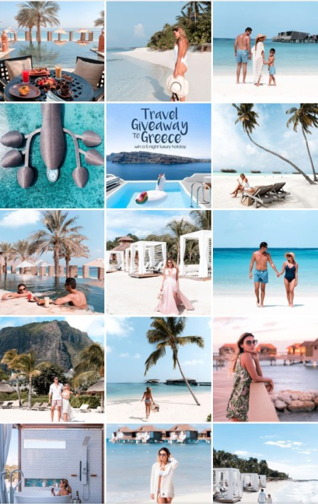 Famous Travel Instagram zeebalife