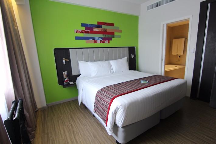 Park Inn by Radisson Clark bedroom, Clark Philippines