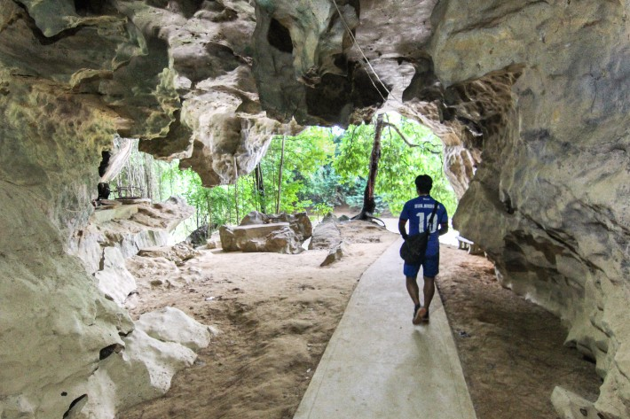 Wat Tham Pua cave khao sok national park thailand