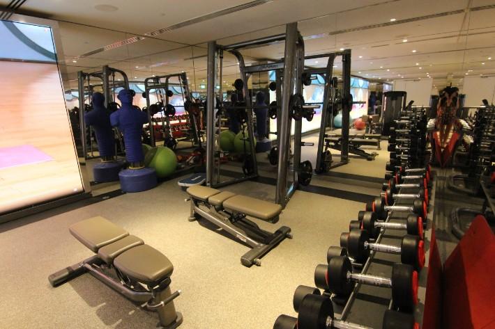 JW Marriott South Beach big gym