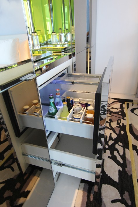 JW Marriott South Beach fridge