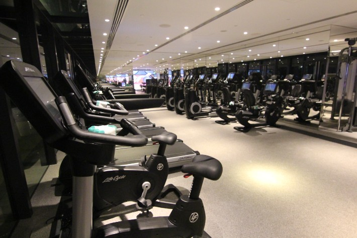JW Marriott South Beach gym