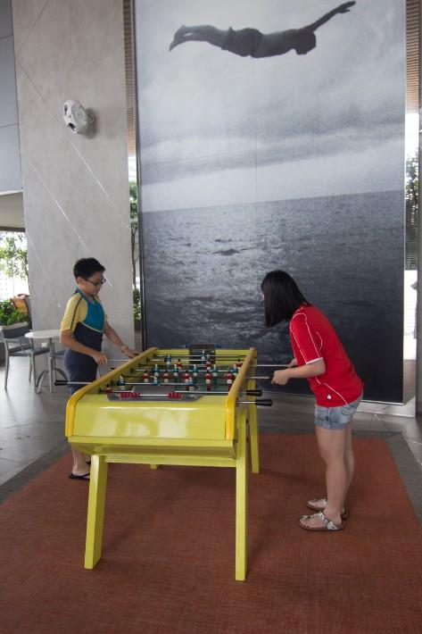 JW Marriott South Beach table soccer
