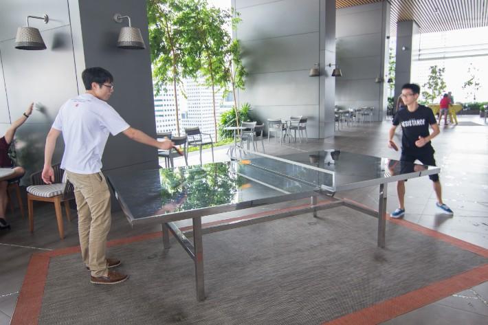 JW Marriott South Beach table tennis