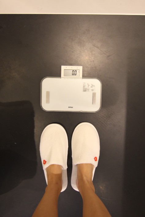 JW Marriott South Beach weighing scale
