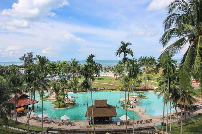 bintan lagoon resort pool beach