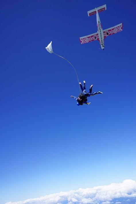 freefall skydive taupo new zealand