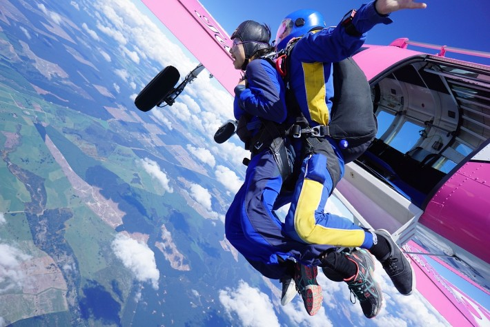What Exactly Happens When You're Skydiving at 15,000 Ft in Taupo, New Zealand?