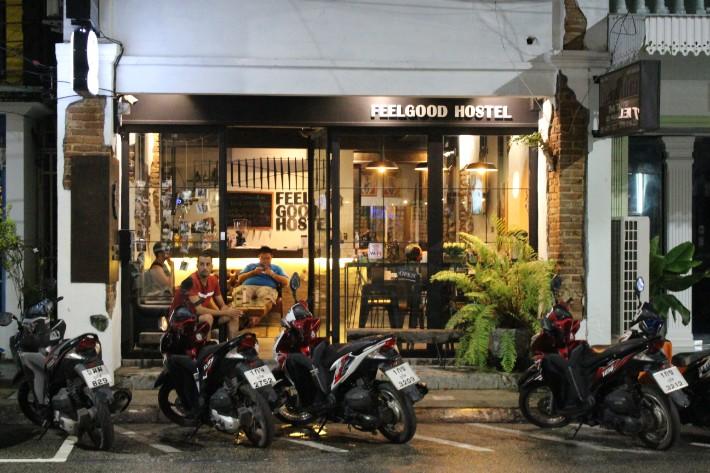 Phuket Old Town feel good hostel