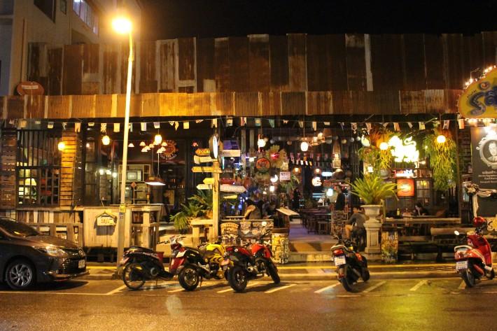 Phuket Old Town hostel night