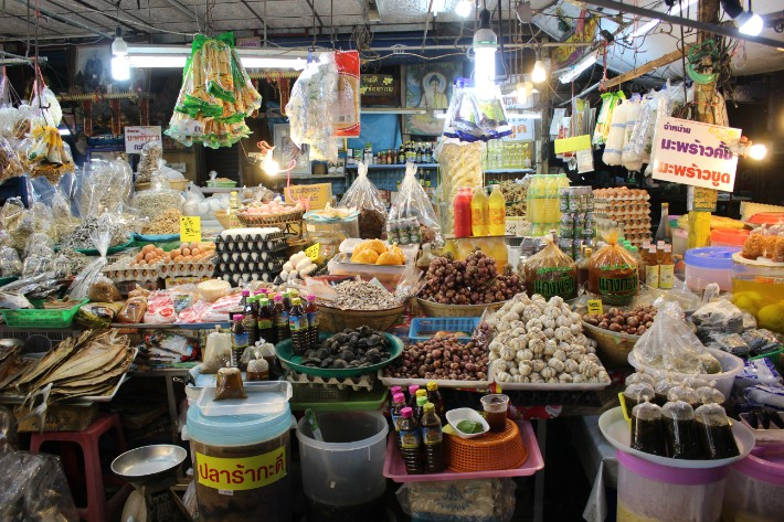 Phuket Old Town market food